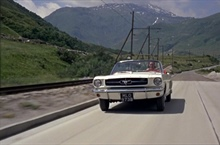 WANTED - Mustang Convertible From The Movie Goldfinger